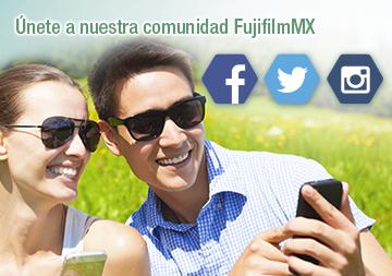 Redes sociales de Fujifilm México