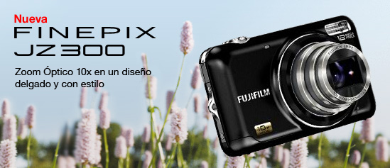 FinePix JZ300 con Grabación de Video