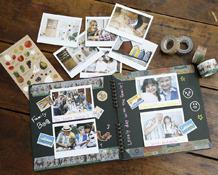 Instax WIDE 300: Crea increíbles álbumes con fotos Instax