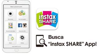 Busque la App Instax SHARE